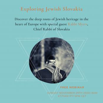 Global Slovakia - Jewish Slovakia webinar