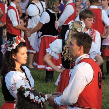Tabor Czech Days dancers