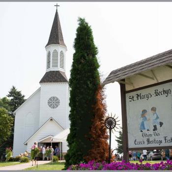 Bechyn Czech Fest church