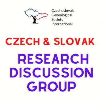 CGSI Czech & Slovak Research Discussion Group