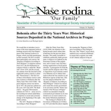 Cover of March 2006 Naše rodina