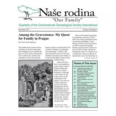 Cover of December 2017 Naše rodina