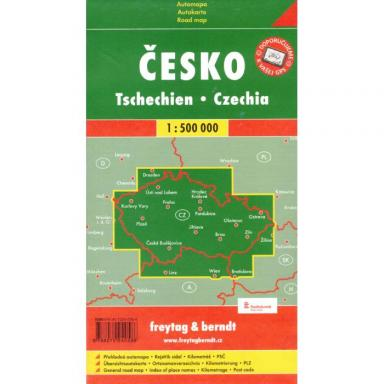 Czech Republic Map 1-500000 cover