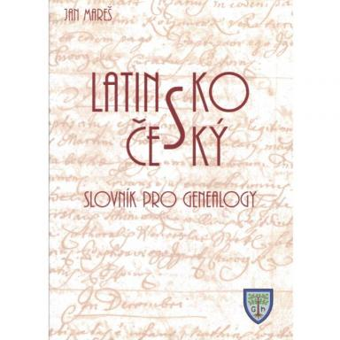 Latin Czech Genealogy Dictionary cover