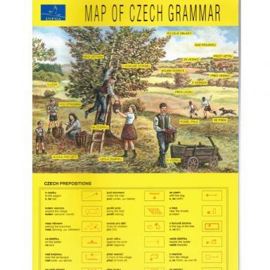 Map of Czech Grammar cover