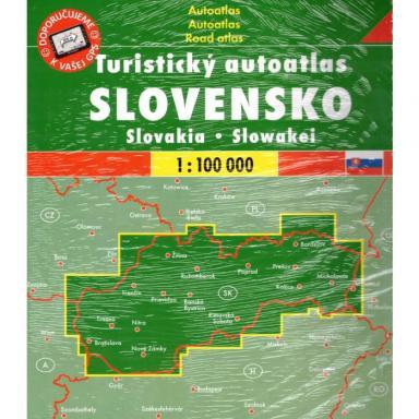 Slovakia Atlas 1:100,000 cover