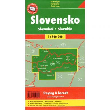 Slovak Republic Map 1:500,000 cover