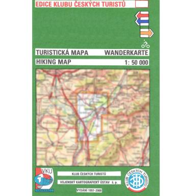 Hiking Map front cover