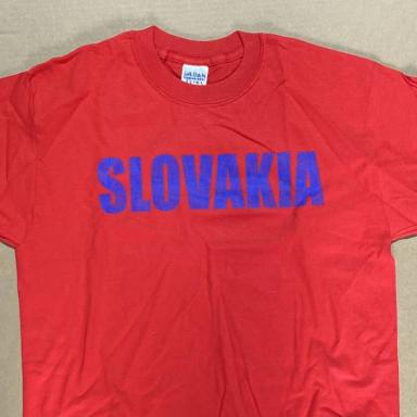 Red Slovakia T-Shirt