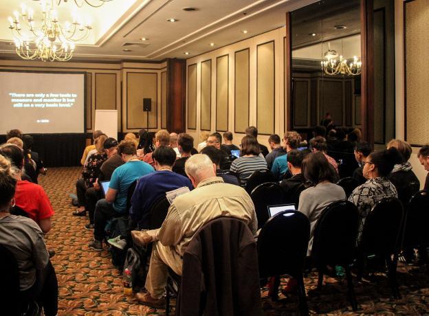 In-person presentation