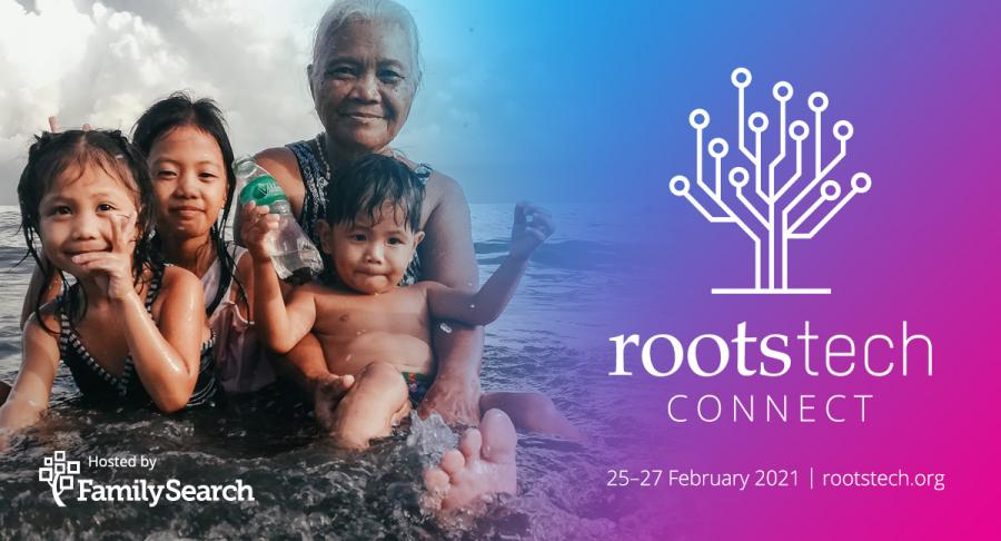 RootsTech Connect banner
