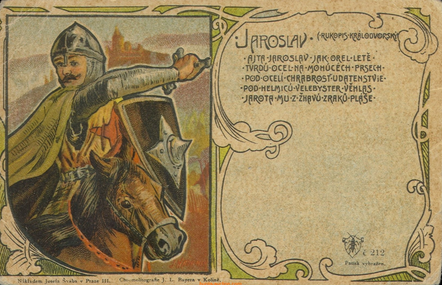 Jaroslav Postcard