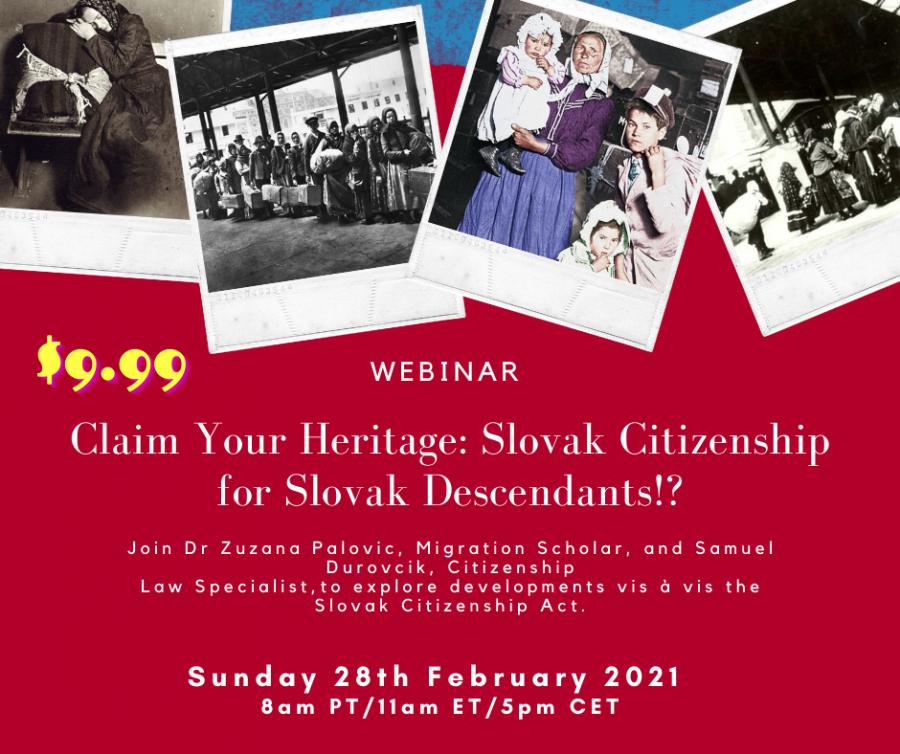 Global Slovakia - SK citizenship webinar