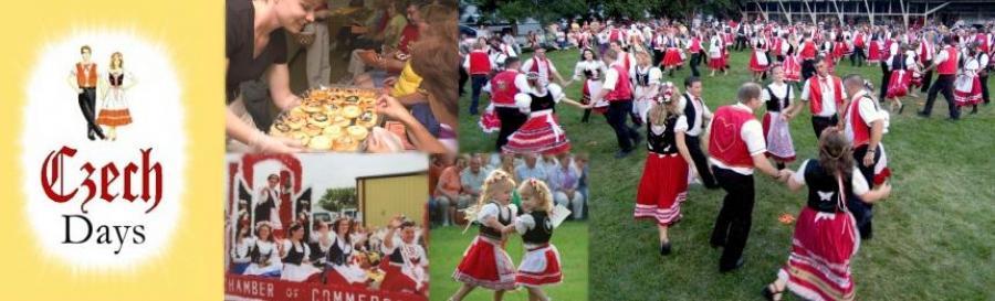 Tabor Czech Days collage