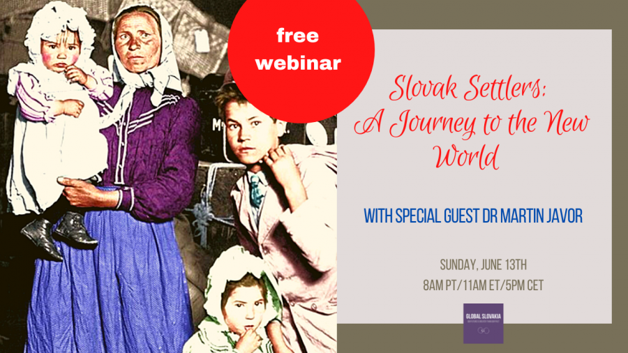 Global Slovakia - Journey to the New World