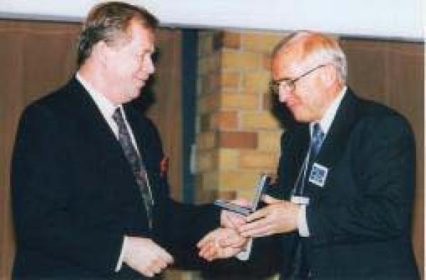 Vaclav Havel & Dave Pavelka