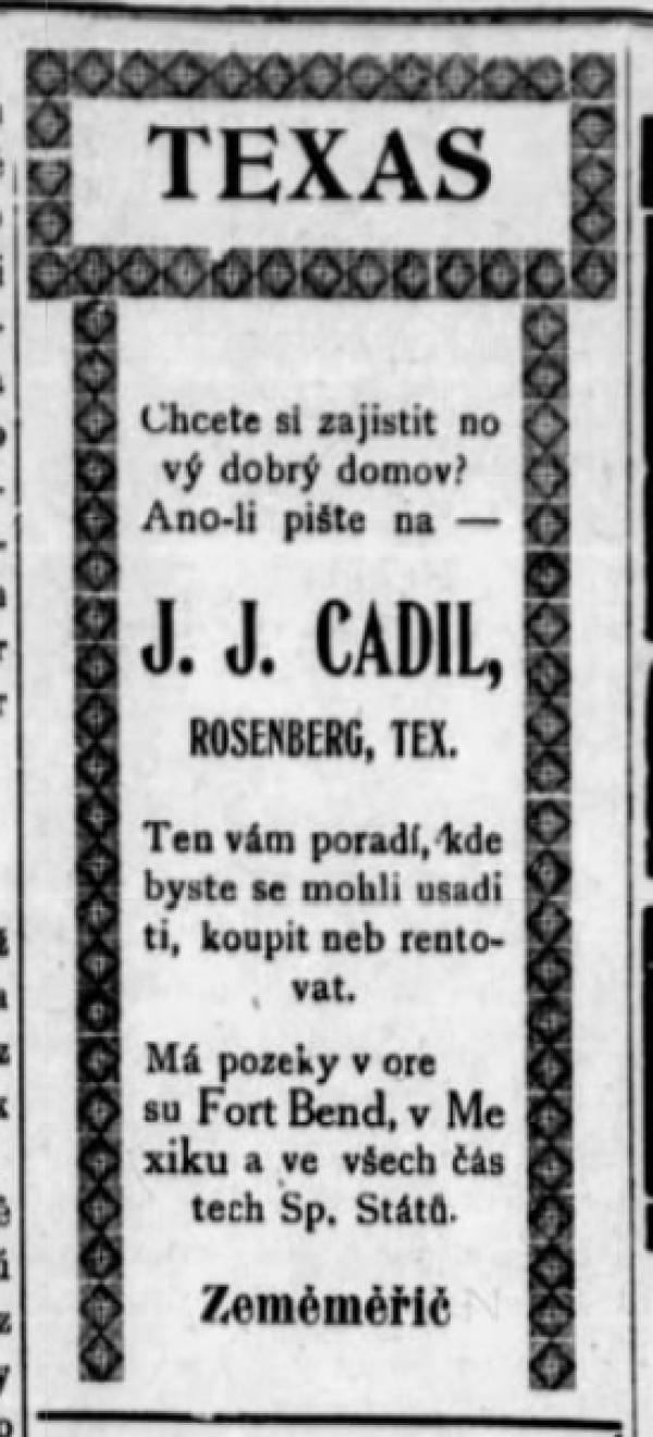 česky Oklahoman 18 Feb 1909