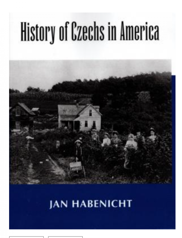 History of Czechs in America Cover