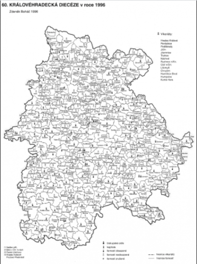 Zámrsk Parish Map (thumbnail)