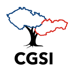 CGSI Logo Blue & Red Map Outline