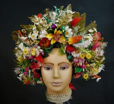 Flower-crown-headdress