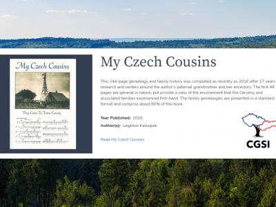 DL spotlight: My Czech Cousins