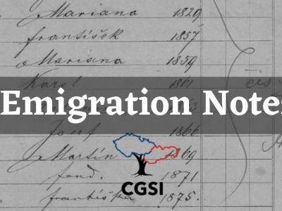 Emigration Notes