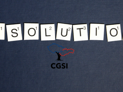 Resolutions with CGSI logo