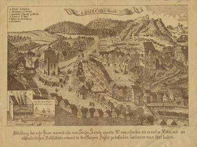 Vedute Karlovy Vary, 1652